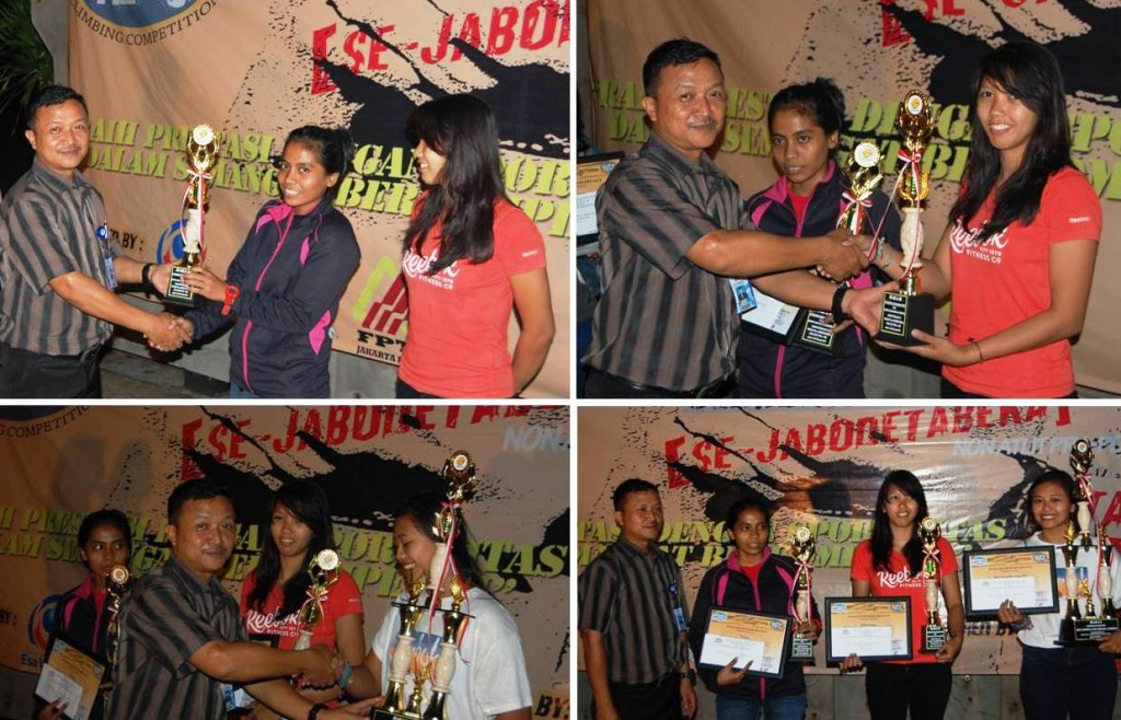 Pemenang Wall Climbing Kategori Putri