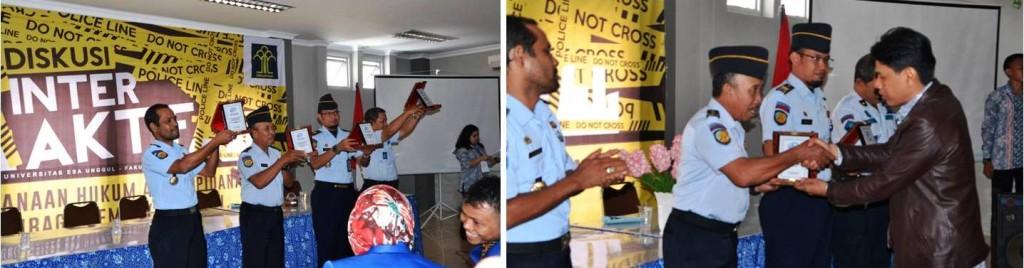 Petugas Lembaga Permasyarakatan Nusa Kambangan