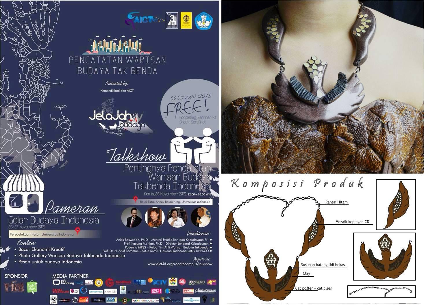 Produk Sangsangan Fakultas Desain dan Industri Kreatif