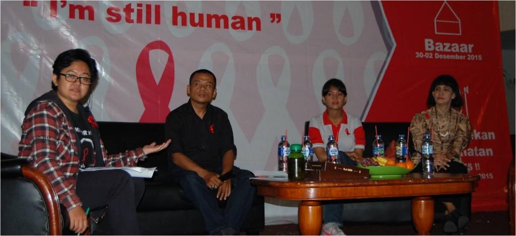 Talk Show Peringatan Hari AIDS Sedunia