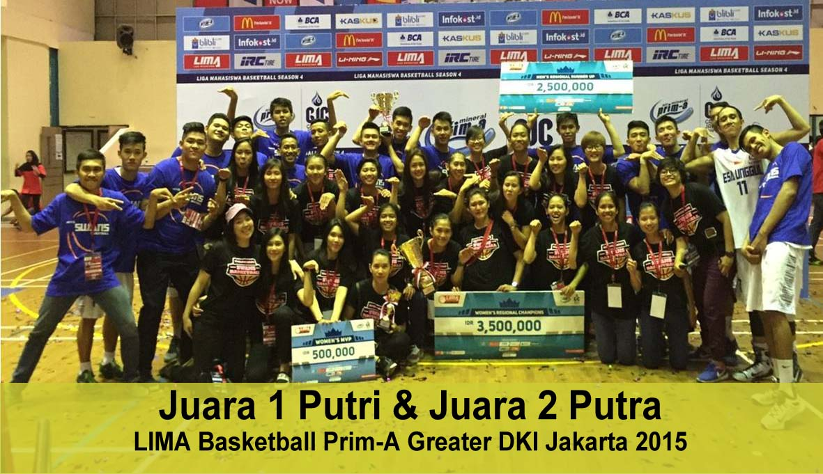 Tim Basket Universitas Esa Unggul