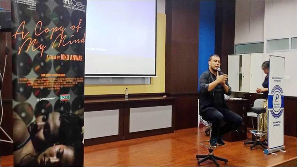 Mengupas Cinematography Film pada Seminar dan Workshop di Universitas Esa Unggul
