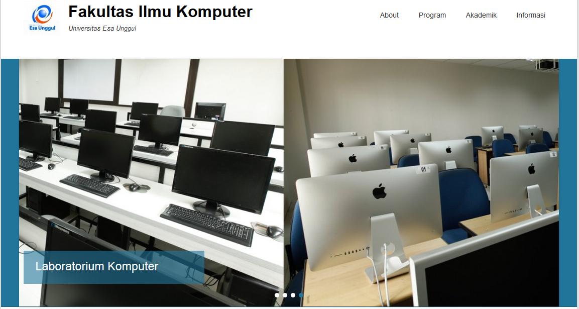 Web Fakultas Ilmu Komputer