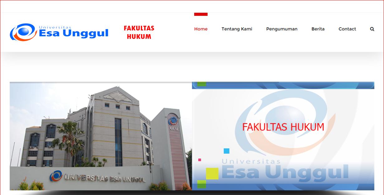 Web Fakultas Hukum