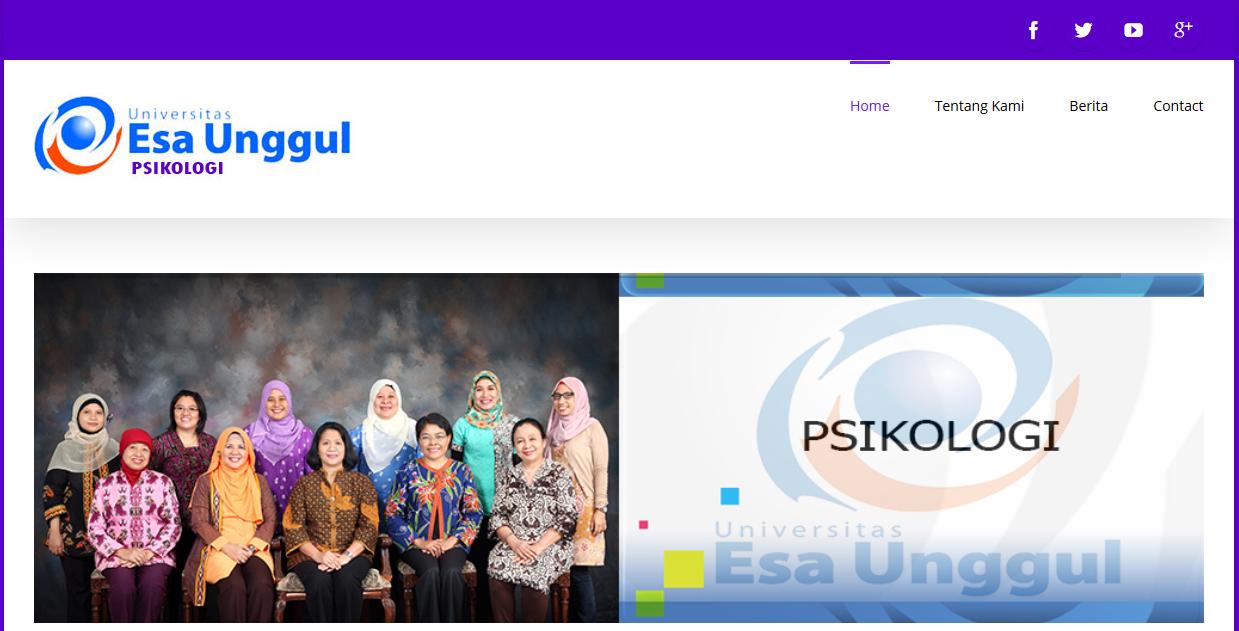 Web Fakultas Psikologi