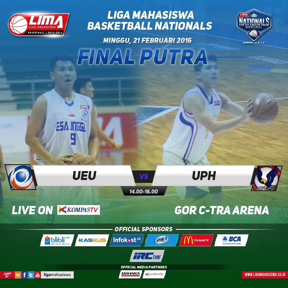 Final Putra Universitas Esa Unggul