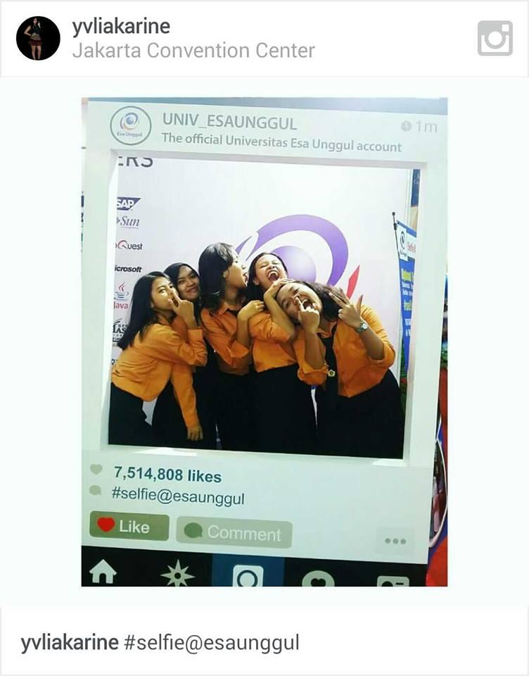 Pemenang Lomba Selfie Universitas Esa Unggul