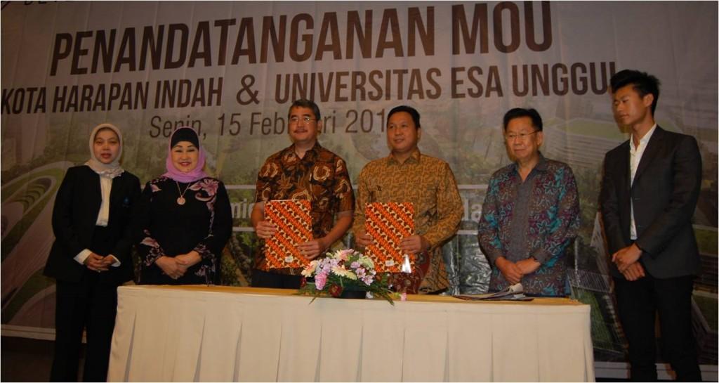 Peresmian Kampus Harapan Universitas Esa Unggul di Bekasi