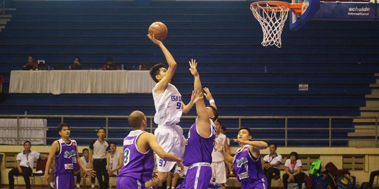 Tim Basket The Swans Universitas Esa Unggul Berhasil Lolos Ke Semi Final LIMA Basketball Nationals