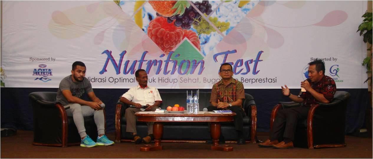 """Seminar """"Hidrasi Optimal Untuk Hidup Sehat, Bugar dan Berprestasi"""" Nutrition Fest Universitas Esa Unggul"""