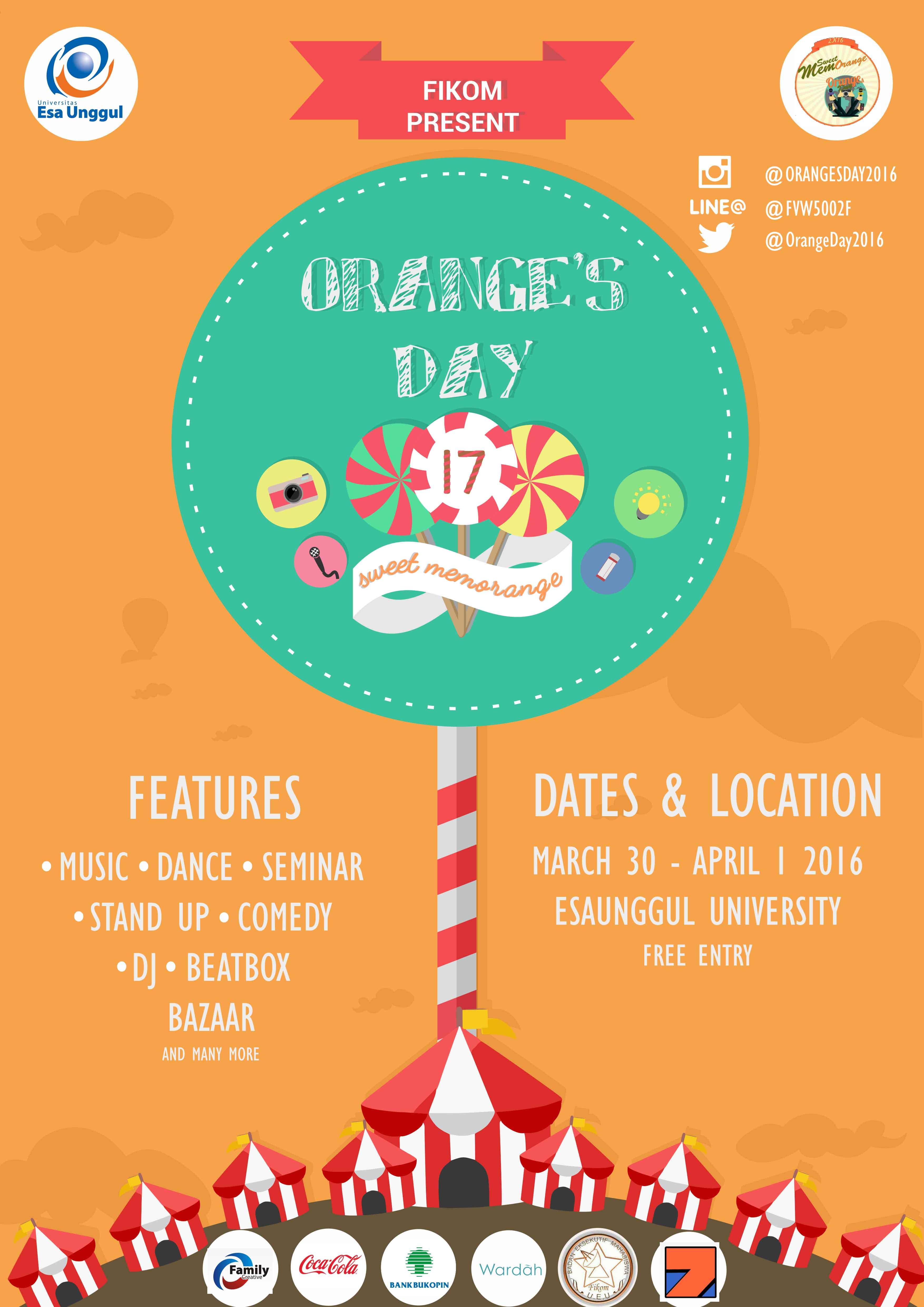 Orange Day Universitas Esa Unggul