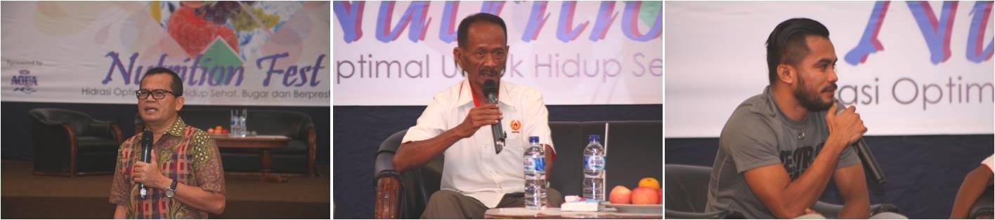 Pembicara di Acara Seminar Nutrition Fest
