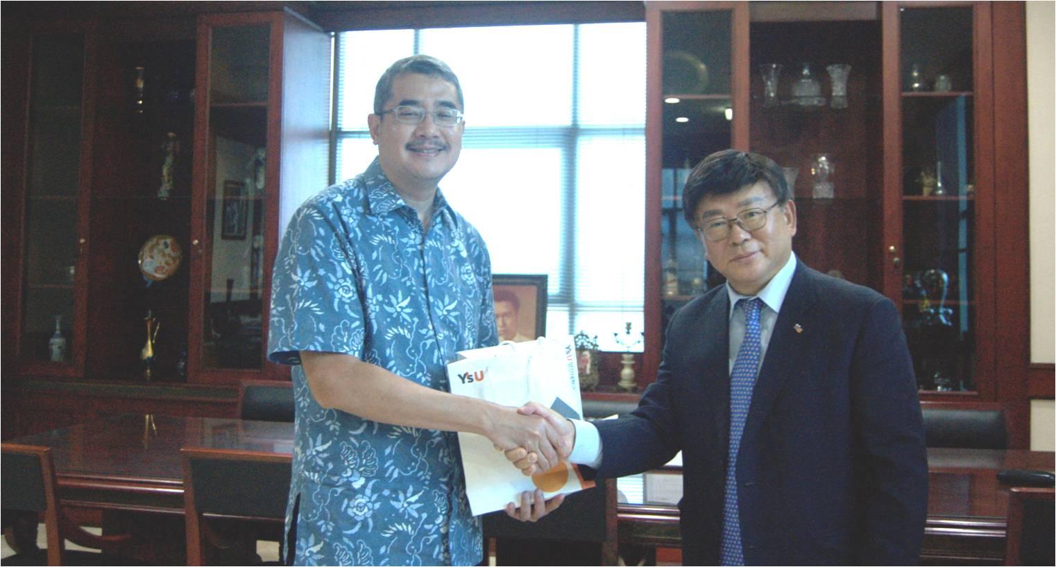 Penjajakan Kerjasama Youngsan University Korea dengan Universitas Esa Unggul