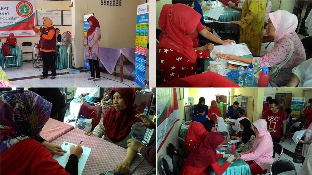 Keterlibatan Program Studi Ners (Ilmu Keperawatan) Fikes Univ. Esa Unggul bersama DPD PPNI Jakarta Barat dalam kegiatan Pengabdian Kepada Masyarakat