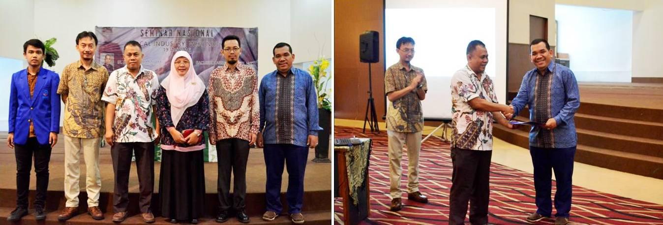 Pembicara dan Para Dosen di Acara Seminar