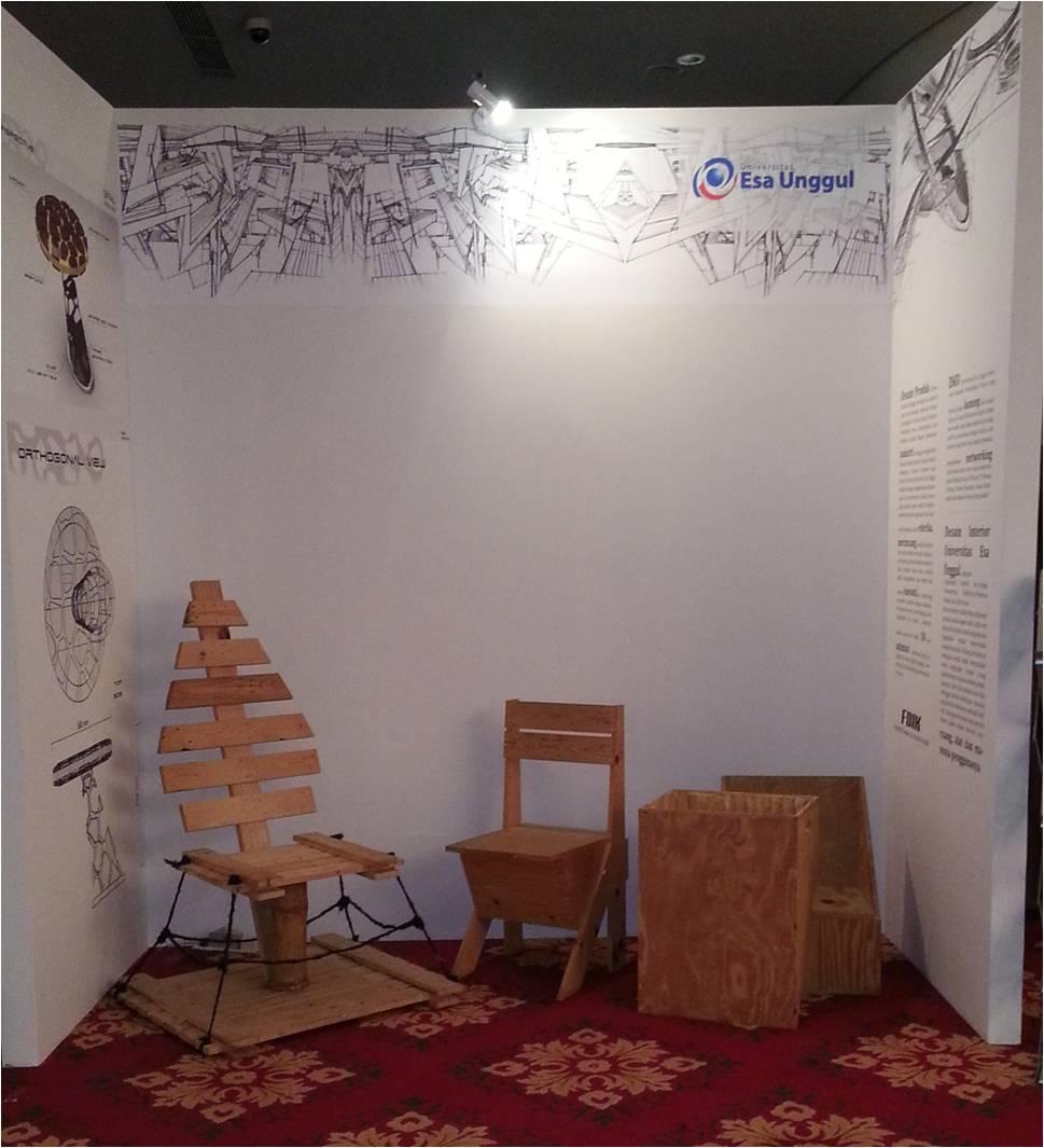 Karya Mahasiswa dan Dosen Jurusan Desain Produk dan Desain Interior Cemerlang pada Pameran Casa by Bravacasa