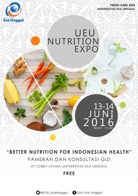 Nutrition Expo Universitas Esa Unggul