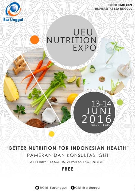 Kemeriahan Nutrition Expo Universitas Esa Unggul, Better Nutrition for Indonesian Health