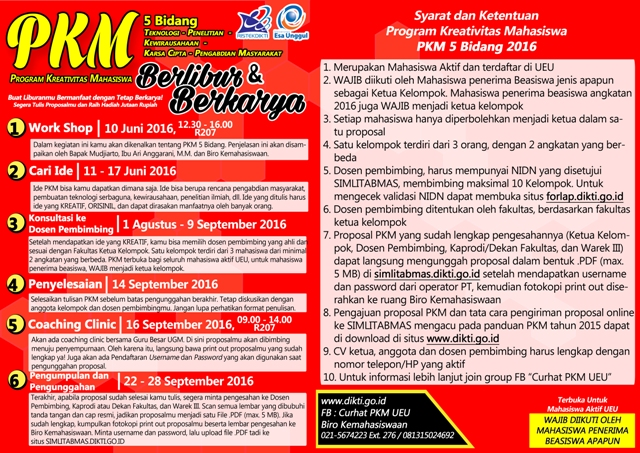 Poster PKM 5 bidang 2016