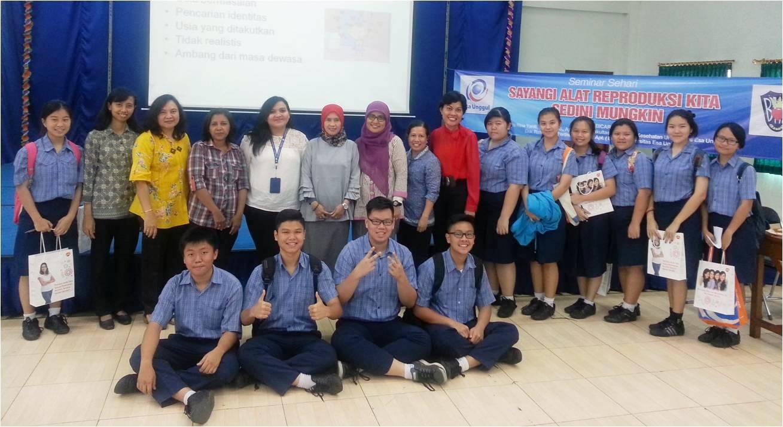 Seminar Sehari di SMA BHK