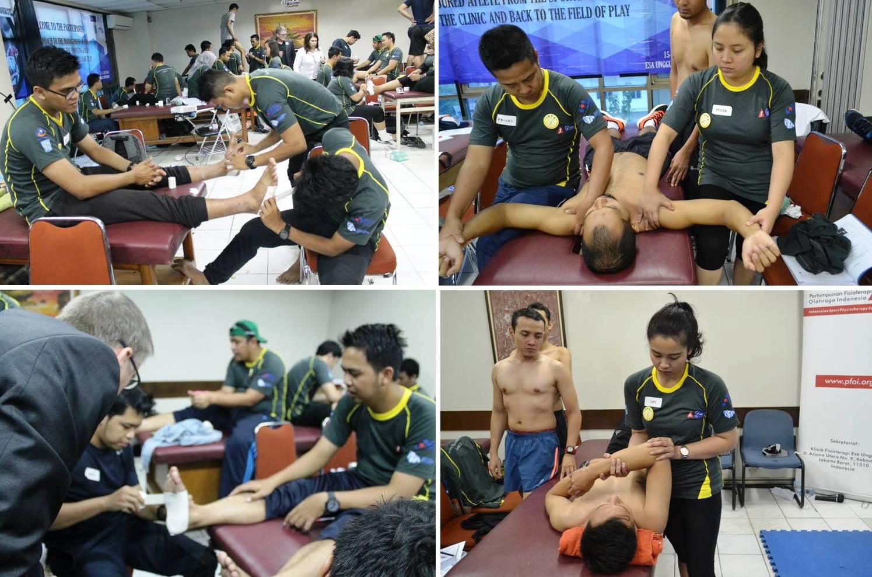 Peserta Mempraktikkan Hasil Pelatihan