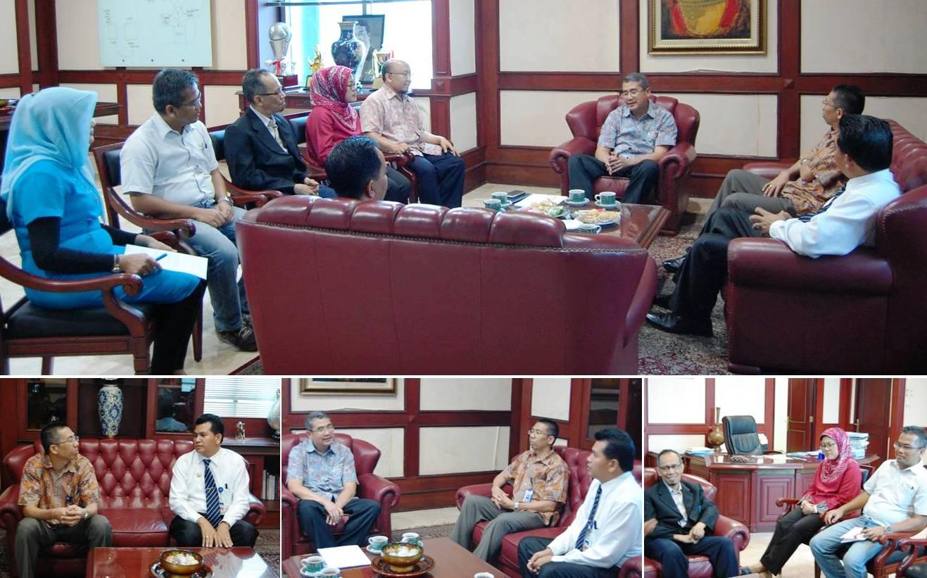 Diskusi Bersama Pejabat Universitas Nusa Cendana dan RRI Kupang dengan Universitas Esa Unggul