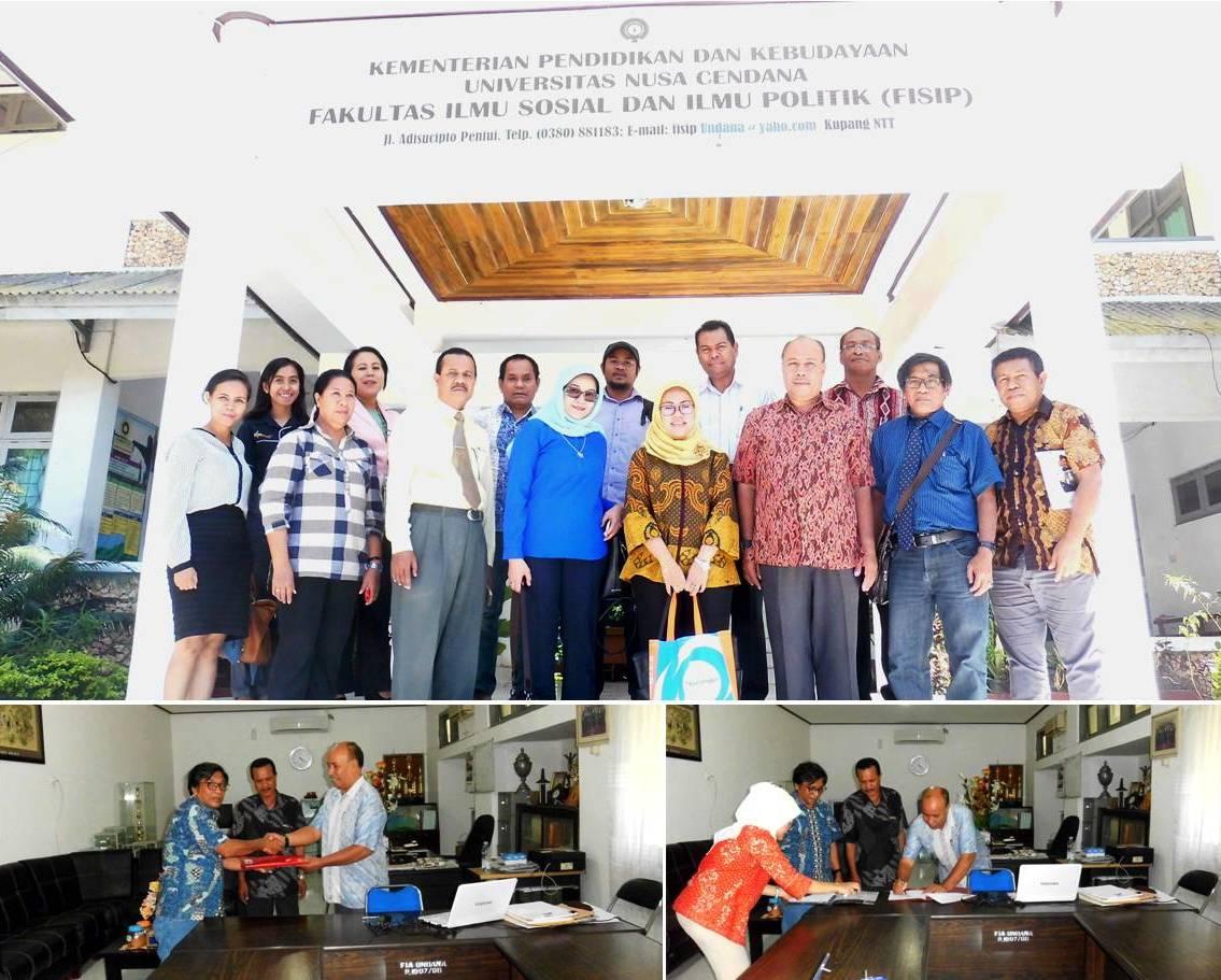 MOA Universitas Esa Unggul dengan Universitas Nusa Cendana