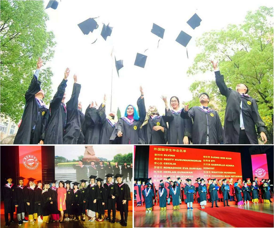 Para Wisudawan Program Double Degree