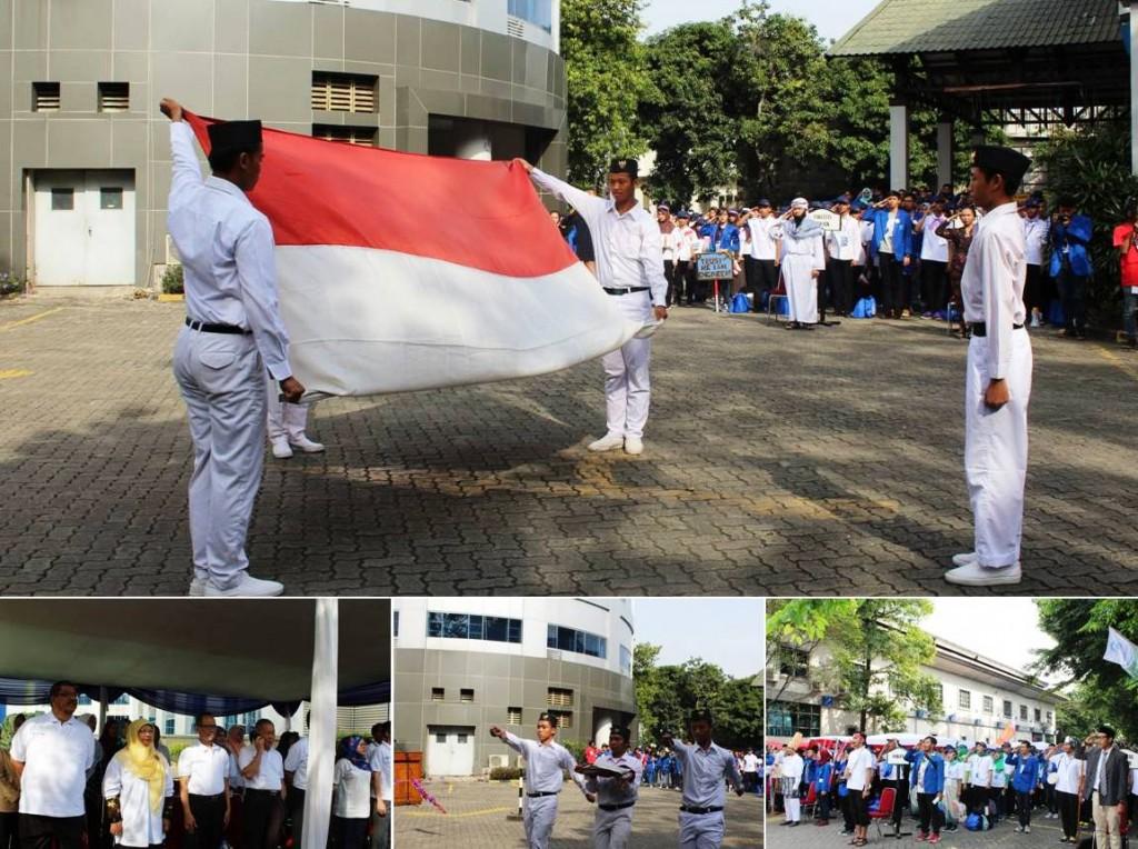 Pengibaran Bendera Republik Indonesia