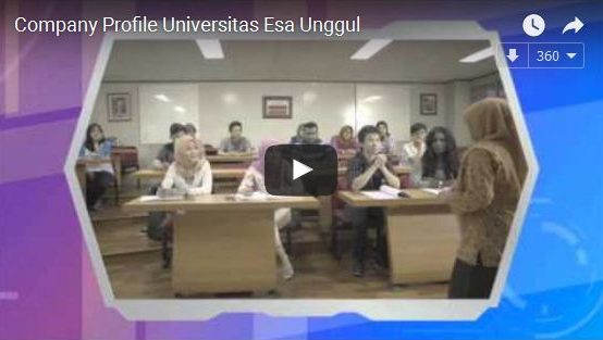 Company Profile Universitas Esa Unggul