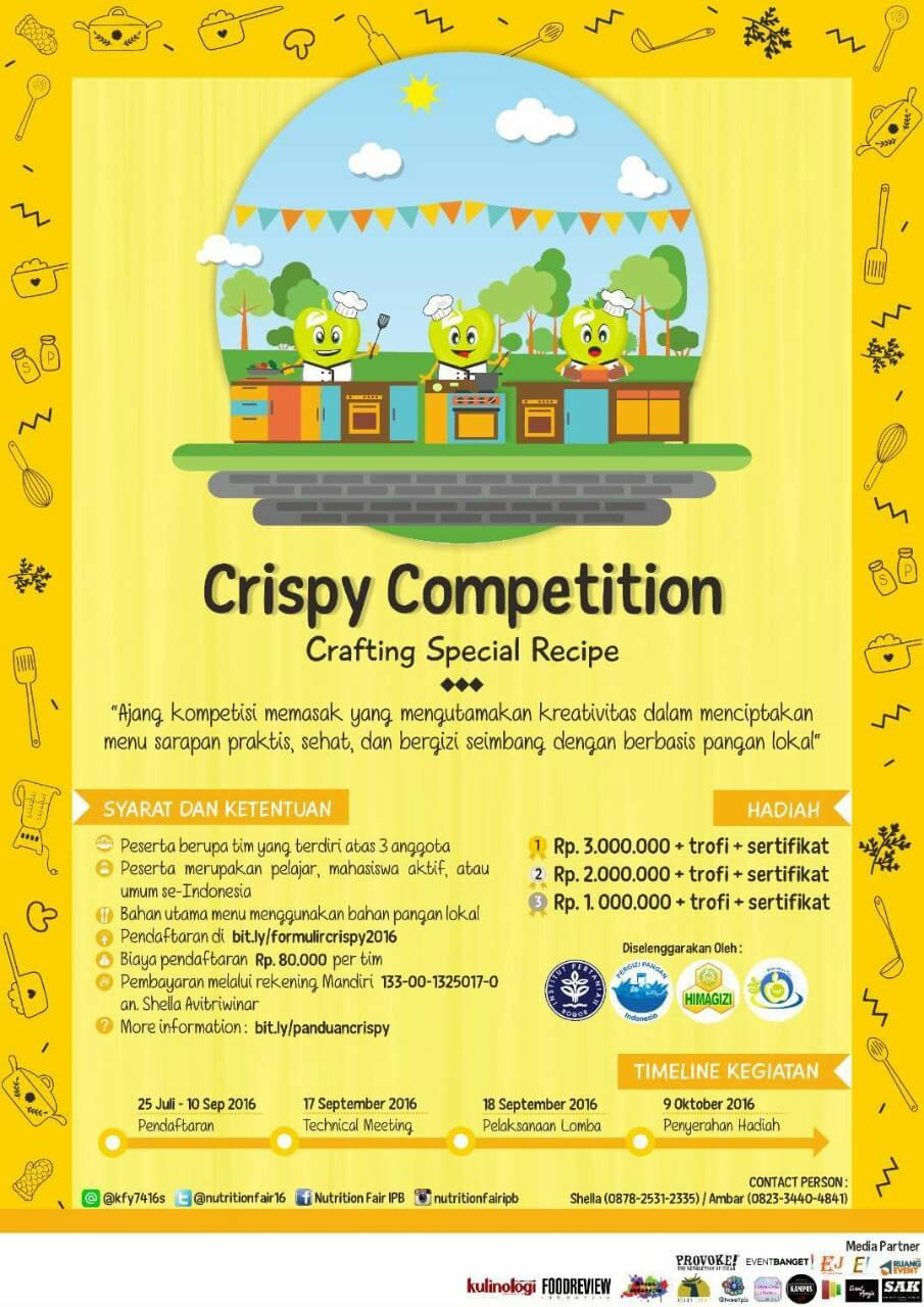 Crispy Competition 2016