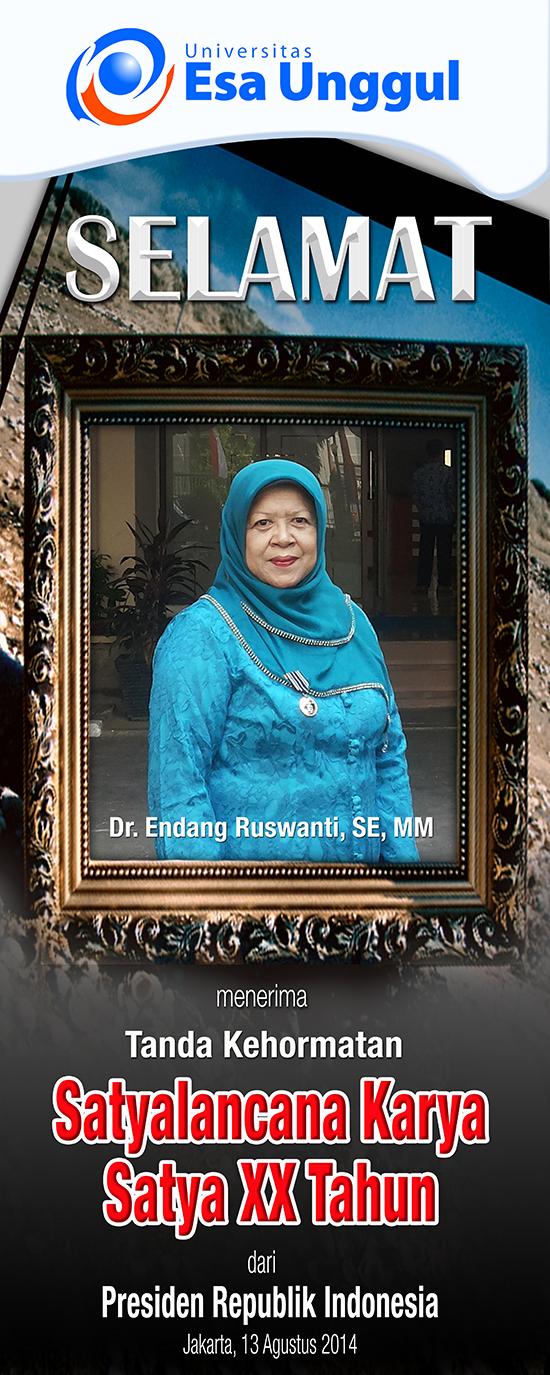 Selamat Dosen Fakultas Ekonomi dan Bisnis Raih SATYALANCANA KARYA SATYA XXX Tahun, Presiden Republik Indonesia 2014
