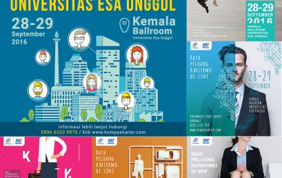 Job Fair Universitas Esa Unggul Kerjasama dengan Kompas Karier Fair 2016