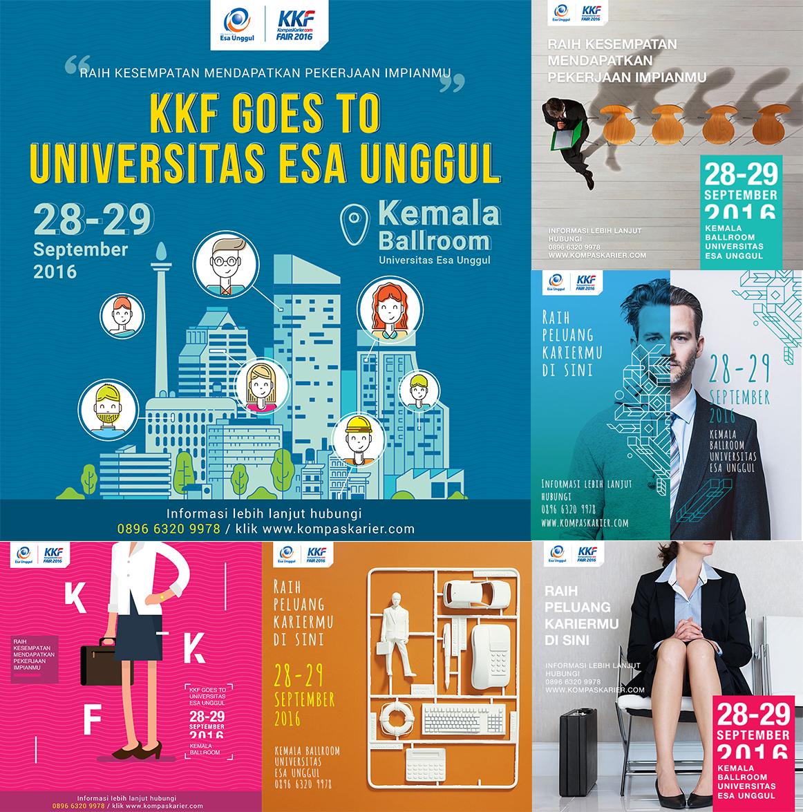 Job Fair Universitas Esa Unggul Kerjasama dengan Kompas Karier Fair 2016