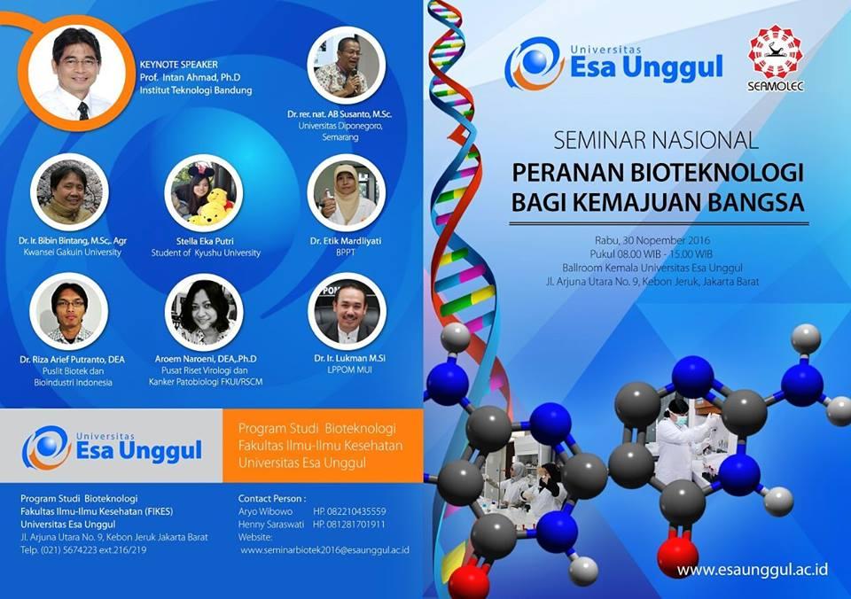 Peranan Bioteknologi Bagi Kemajuan Bangsa