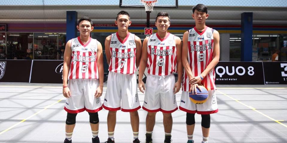 Tim PON 3×3 Basket DKI Raih Emas 2016
