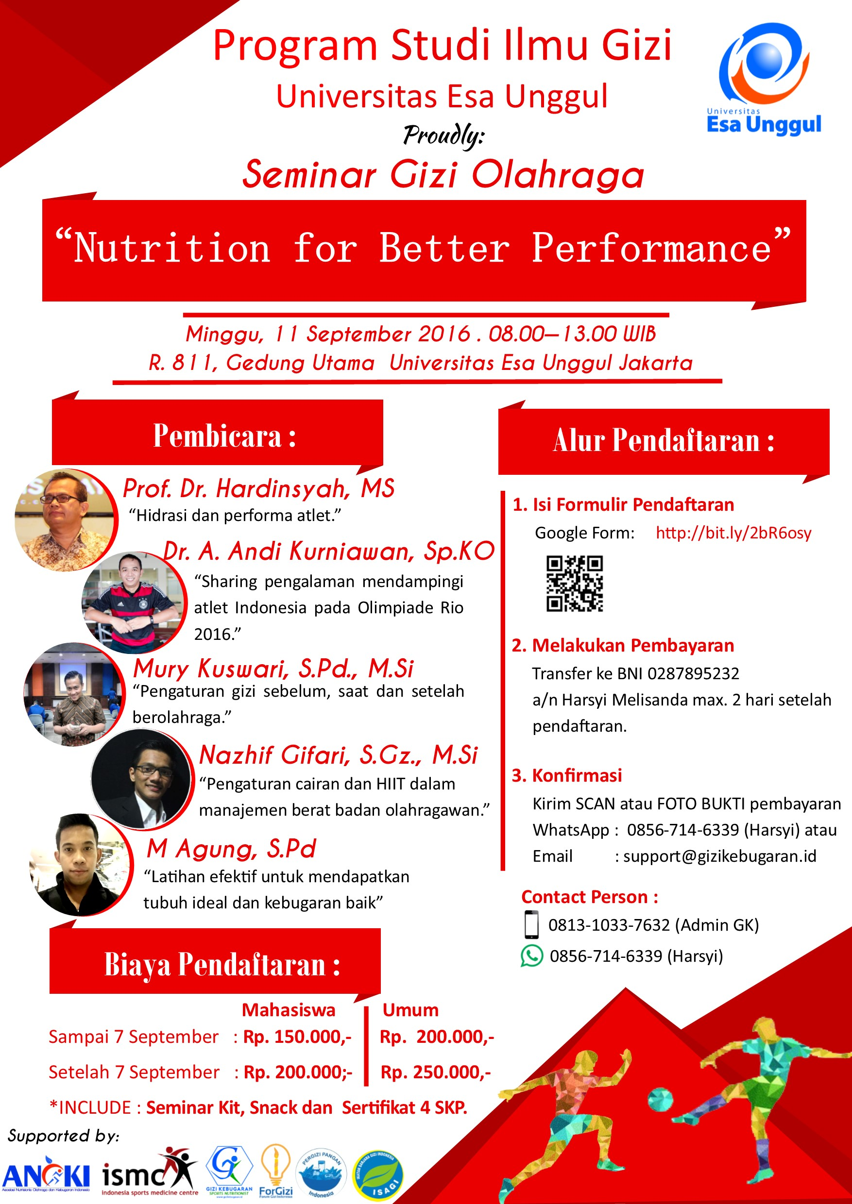 Nutrition for Better Performance 2016