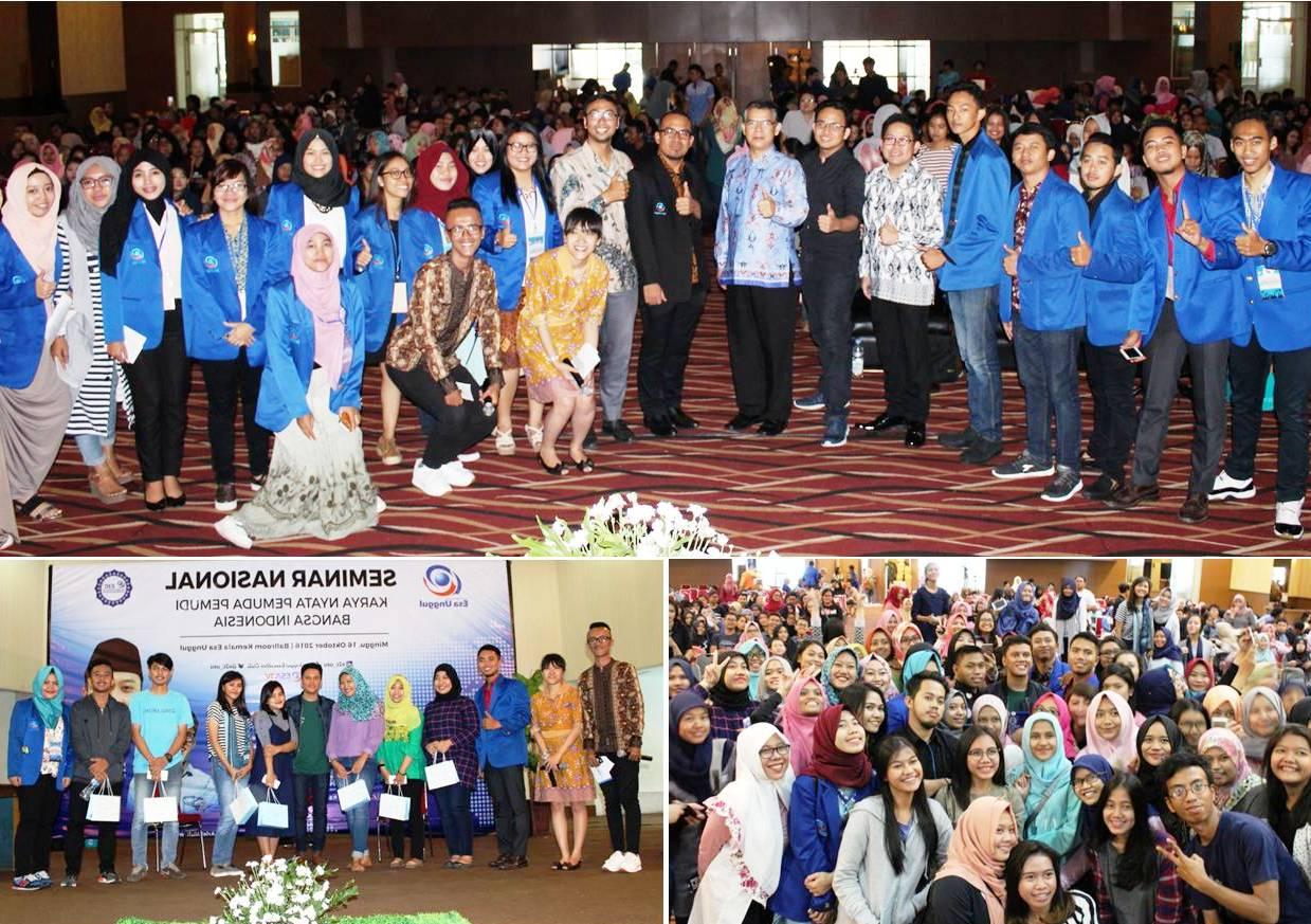 Foto Bersama dengan Pembicara dan Peserta Seminar