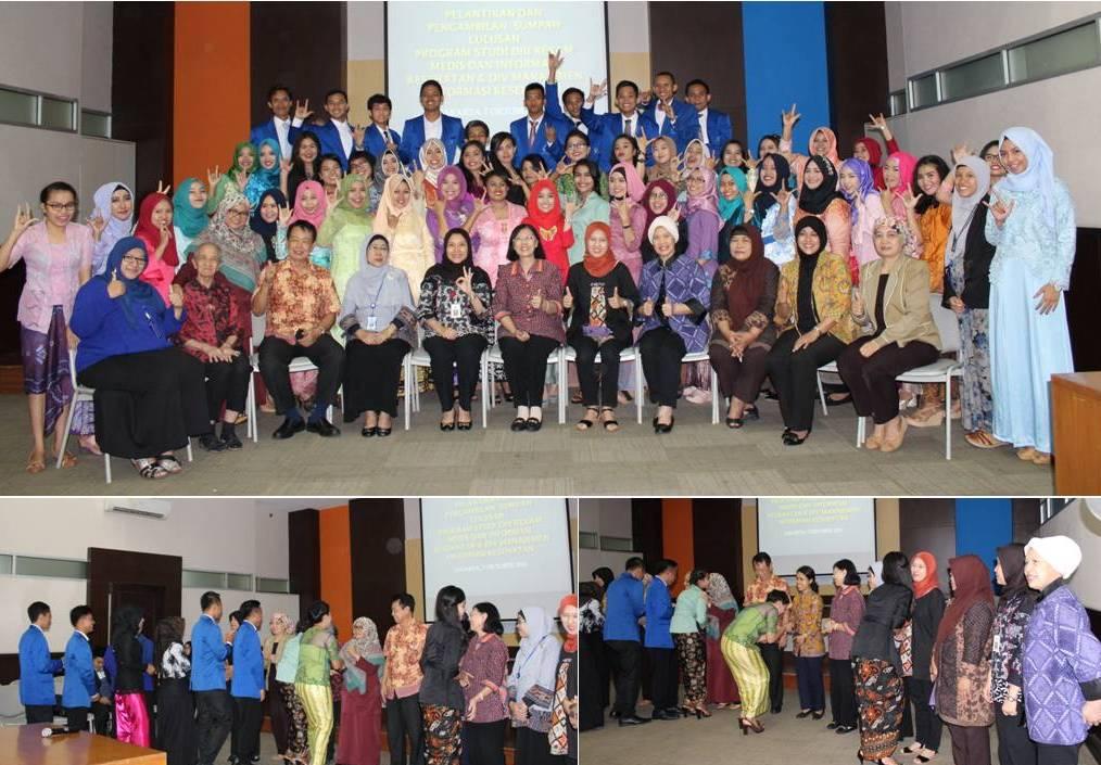 Foto Bersama Tamu, Kaprodi dan Dekan serta Para Lulusan