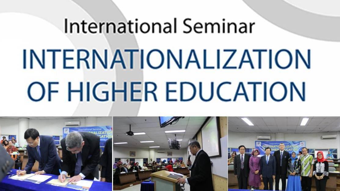 International Seminar Internationalization Of Higher Education