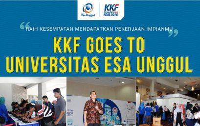 Kompas Karier Goes to Universitas Esa Unggul