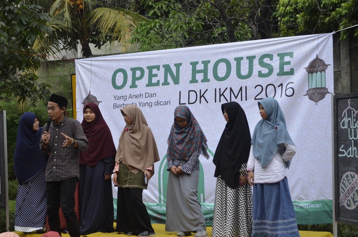 OPEN HOUSE : Menyambut Keluarga Baru LDK IKMI