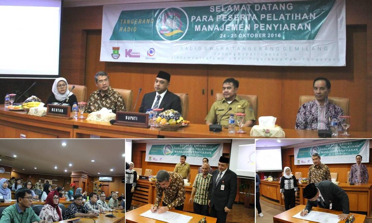 Penandatanganan Kerjasama Universitas Esa Unggul dengan Pemerintah Kabupaten Tangerang