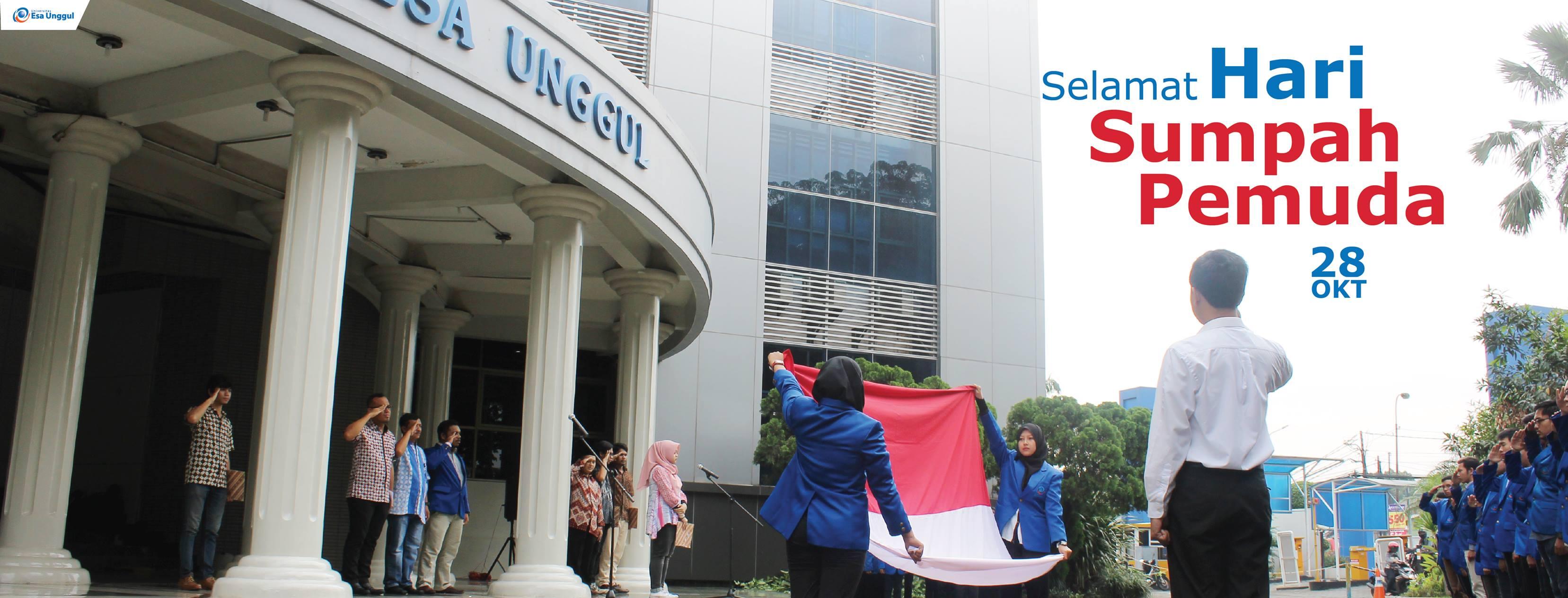 Universitas Esa Unggul Memperingati Hari Sumpah Pemuda