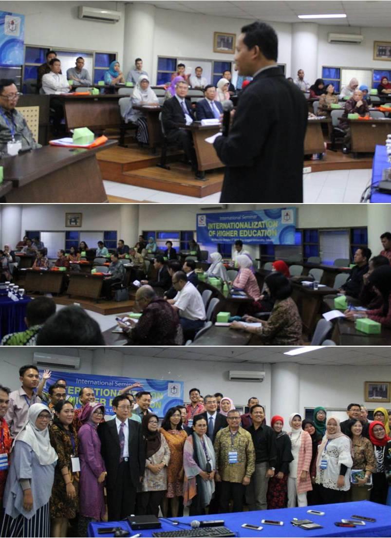 Peserta acara seminar internasional