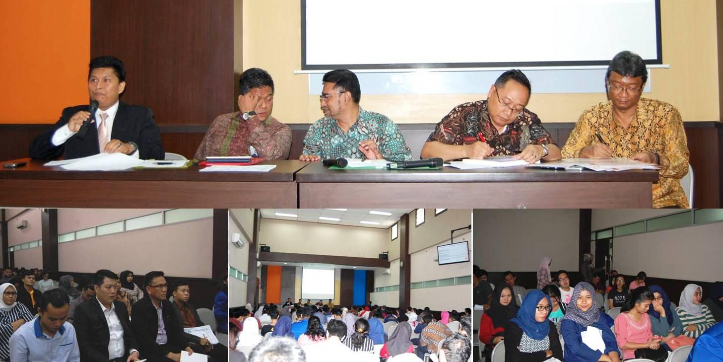 Seminar Nasional Pengadaan Barang dan Jasa Publik di Universitas Esa Unggul