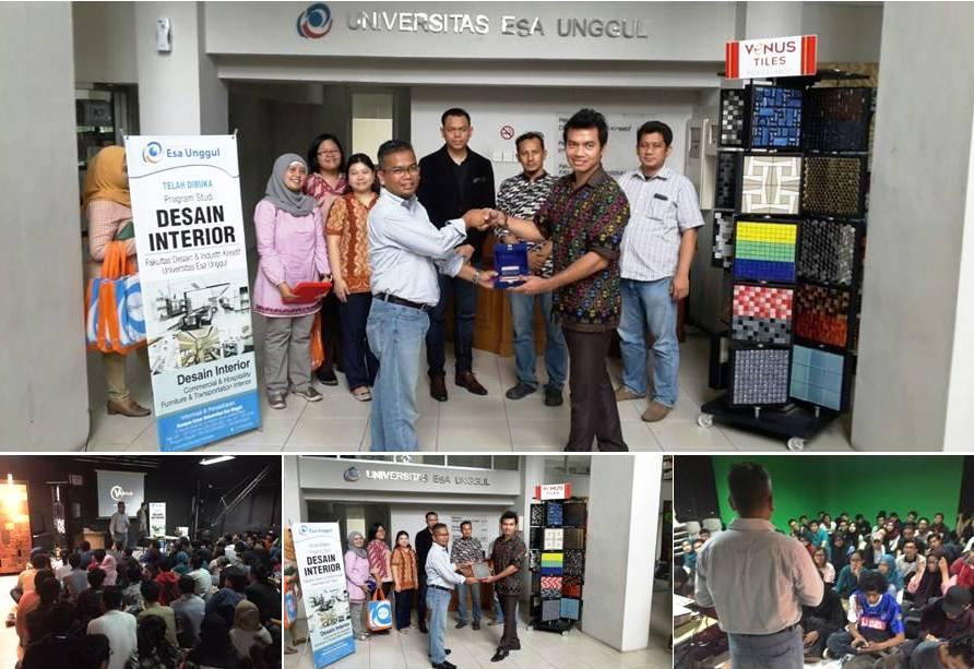 Seminar dan Workshop oleh Fakultas Desain dan Industri Kreatif