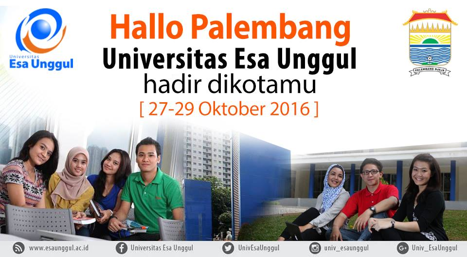 Esa Unggul University Goes to Palembang