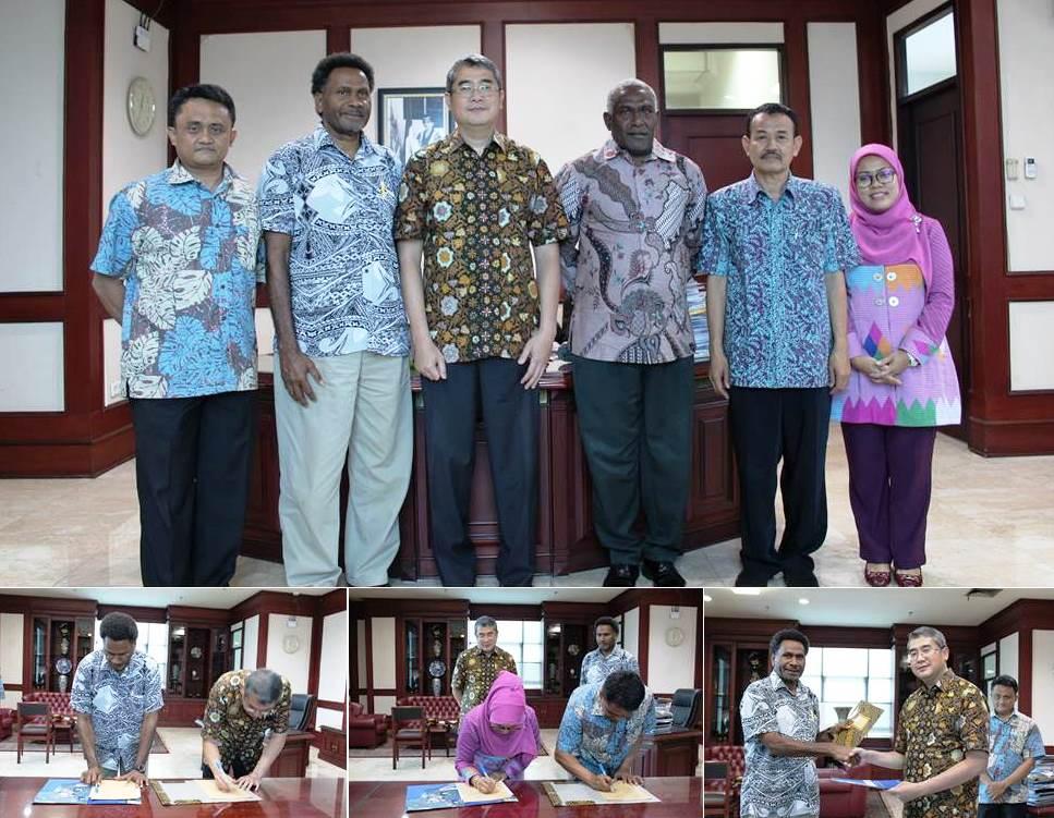 MOU Universitas Esa Unggul dengan E. Institute of Tehchnology Vanuatu
