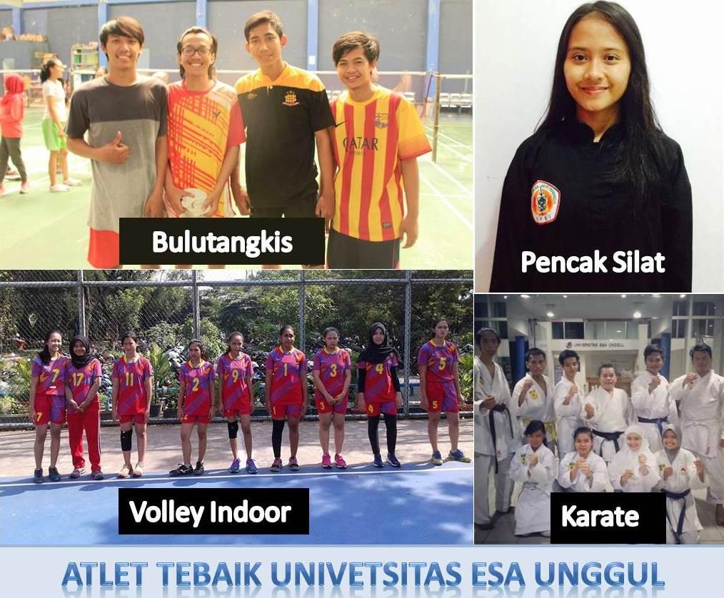 Mahasiswa Universitas Esa Unggul Ikut Pekan Olahraga Mahasiswa DKI Jakarta, 2016